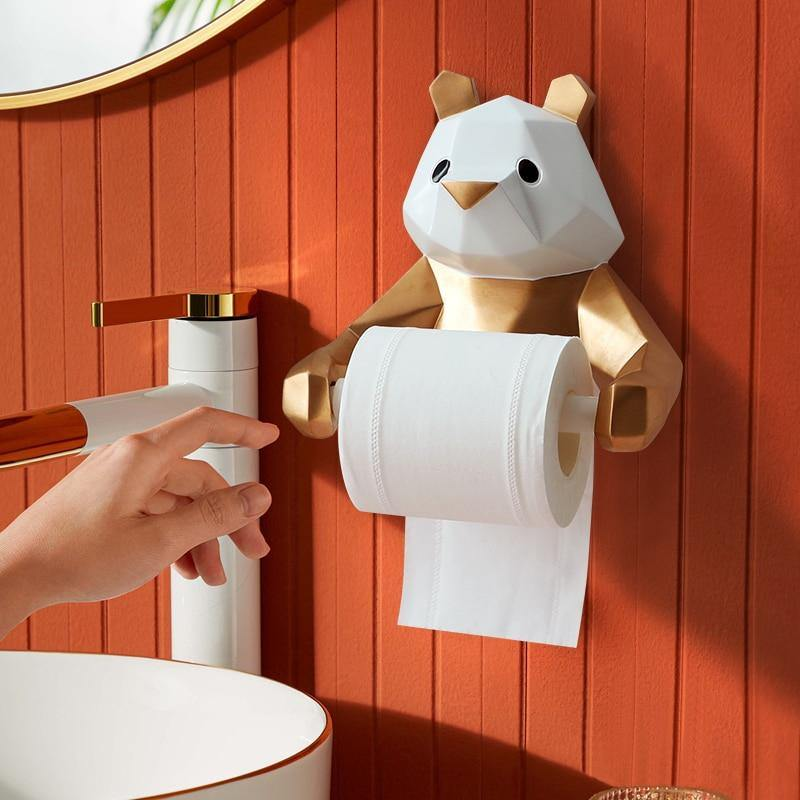 Panda Toilet Tissue Holder