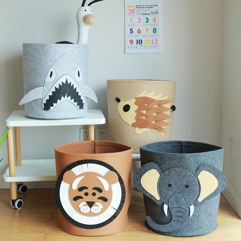 Felt Animal Storage Container