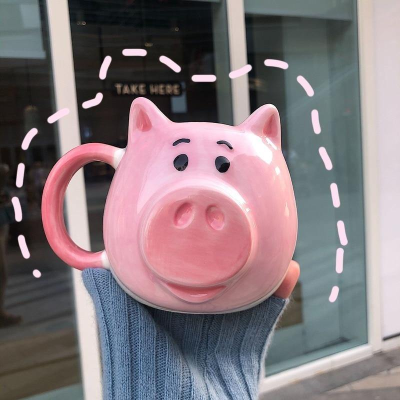 Cute Pig Ceramic Coffee Mug
