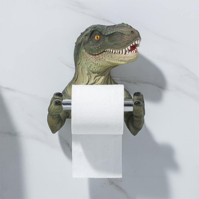 Dinosaur Toilet Paper Holder