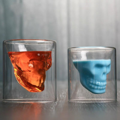 Skull Head Shot Glasses - It's Okay To Be Weird