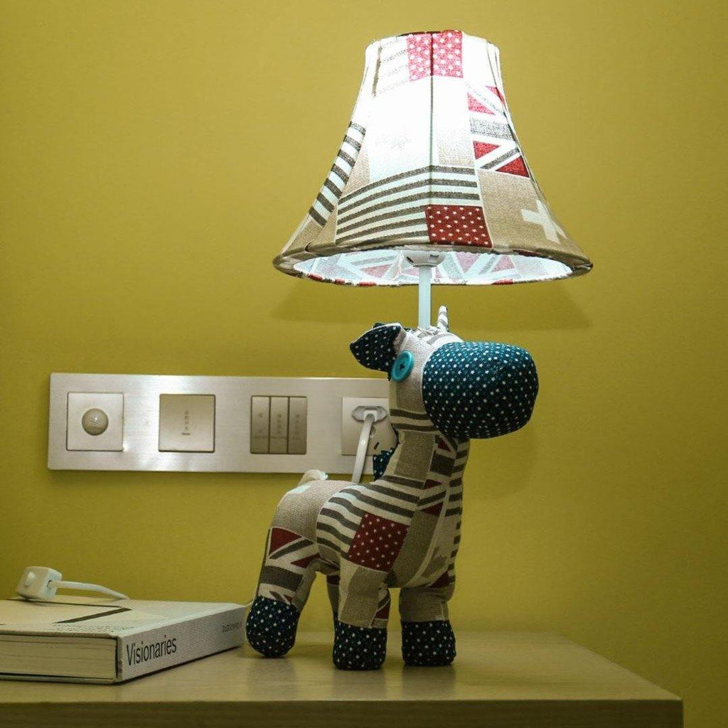 Multicolored Horse Table Lamp