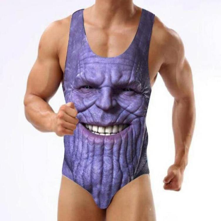 Thanos Sexy Swimsuit - It's Okay To Be Weird