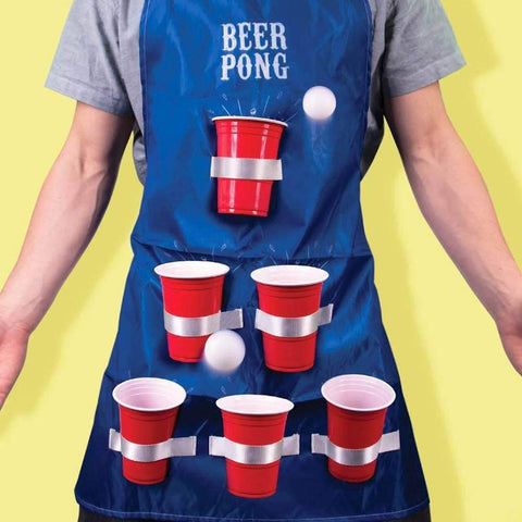 Beer Pong Apron - It's Okay To Be Weird