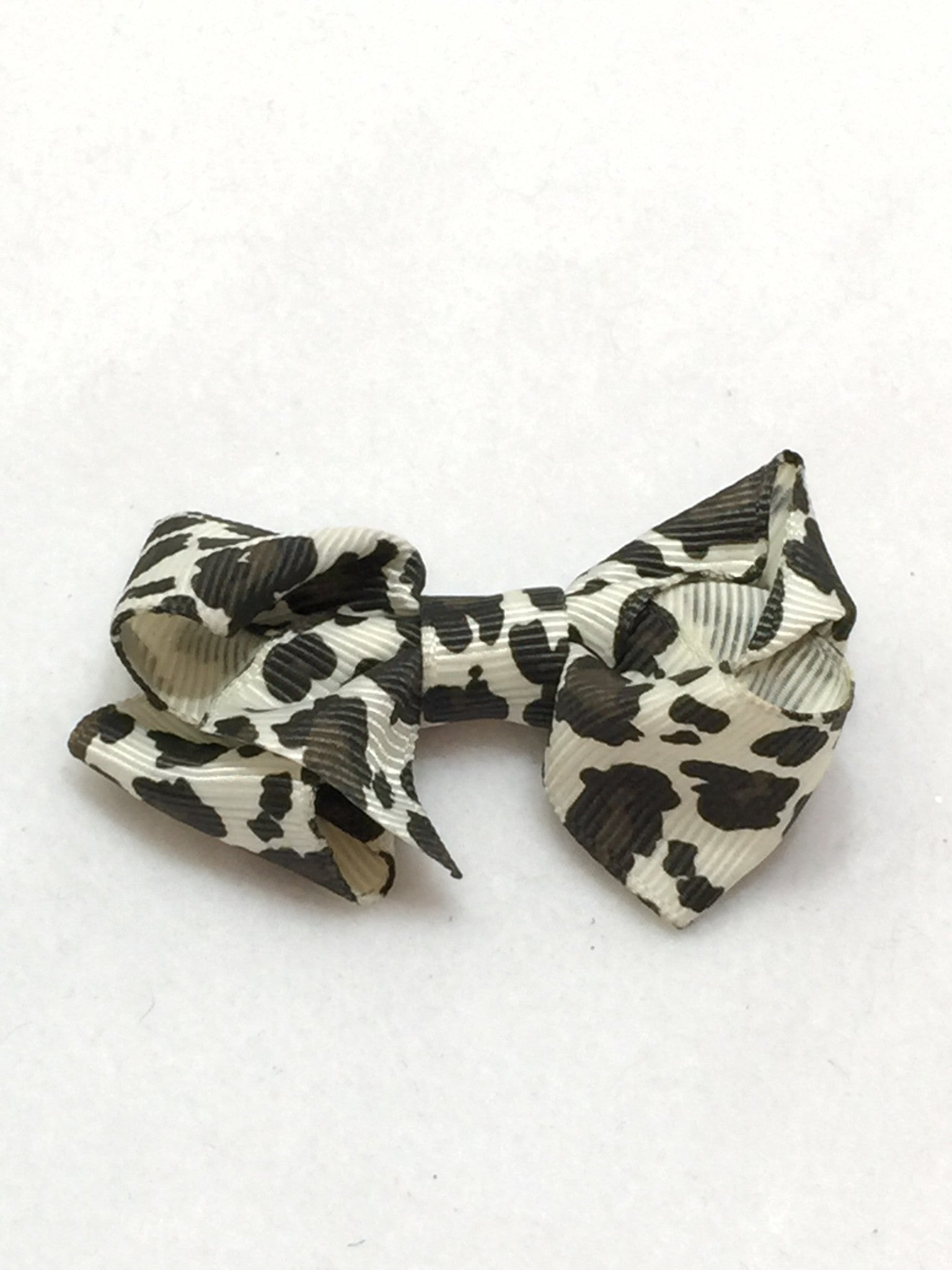 Small Hair Bow - Cheetah - Cutie Bowtutie