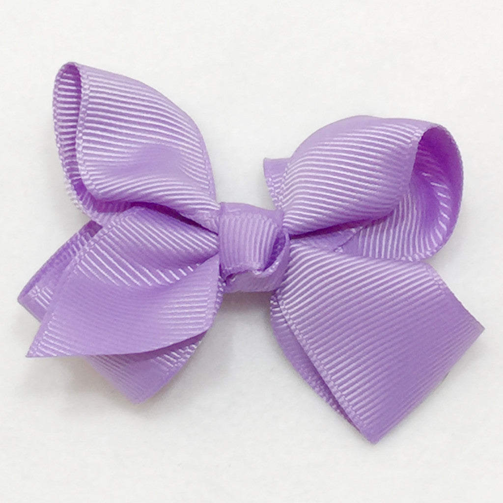 Small Hair Bow - Lavender