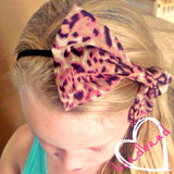 Headband - Animal Bow - Cutie Bowtutie