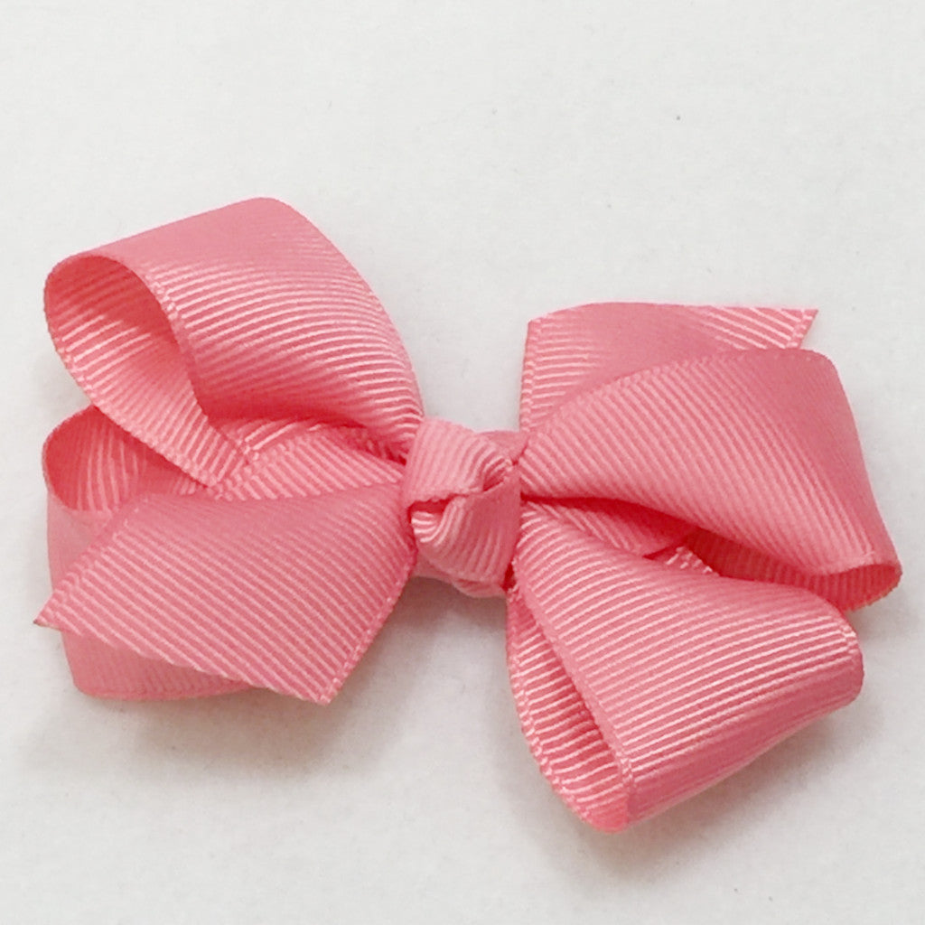 Medium Hair Bow - Pink - Cutie Bowtutie