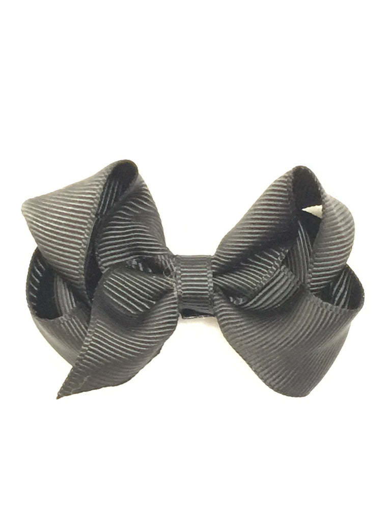 Small Hair Bow - Black