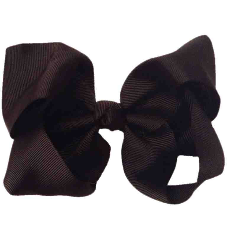 Jumbo Hair Bow - Black - Cutie Bowtutie