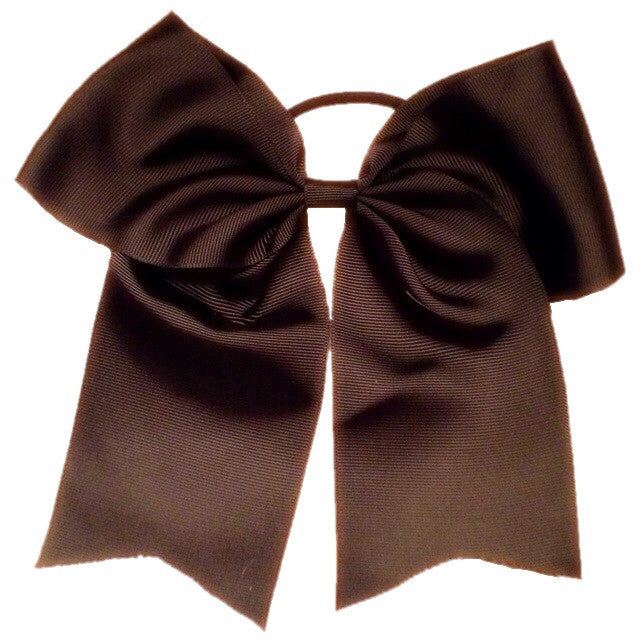 Cheer Bow - Black - Cutie Bowtutie