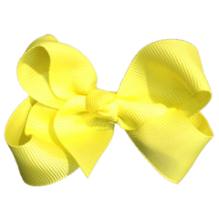 Medium Bow Knot - Neon Yellow - Cutie Bowtutie