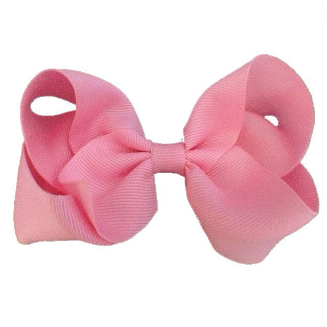 Large Hair Bow - Light Pink
