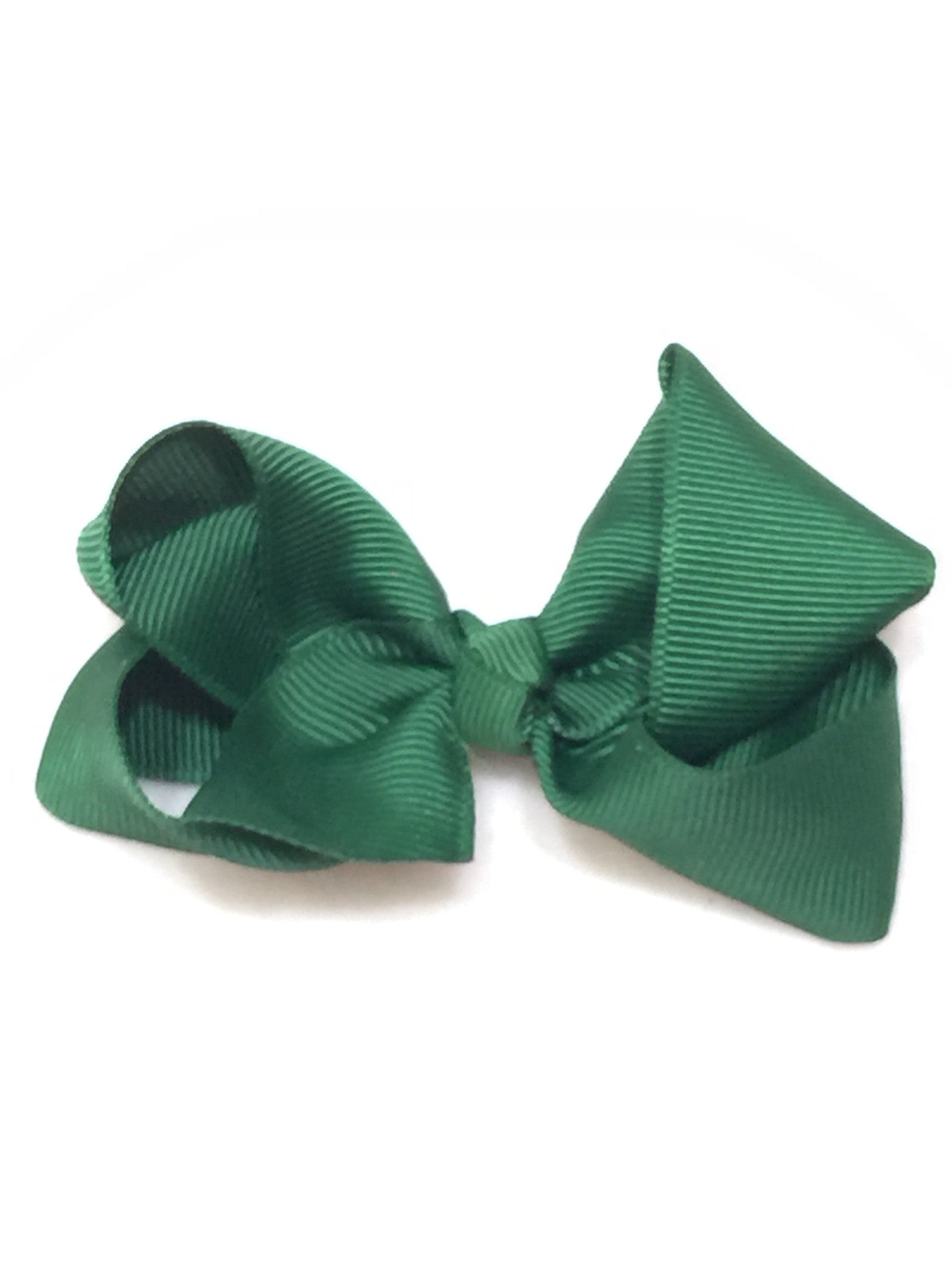 Medium Bow Knot - Hunter Green - Cutie Bowtutie
