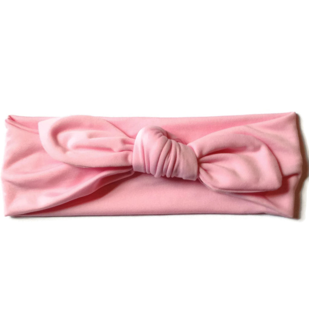 Turban Knotted Headband - Pink