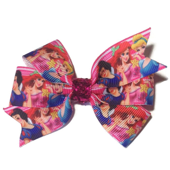 Medium Little Mermaid Hair Bow - Cutie Bowtutie