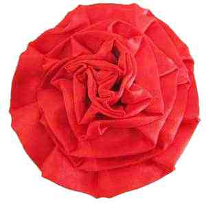 Satin Rose - Red