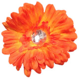 Large Spring Daisy - Orange - Cutie Bowtutie