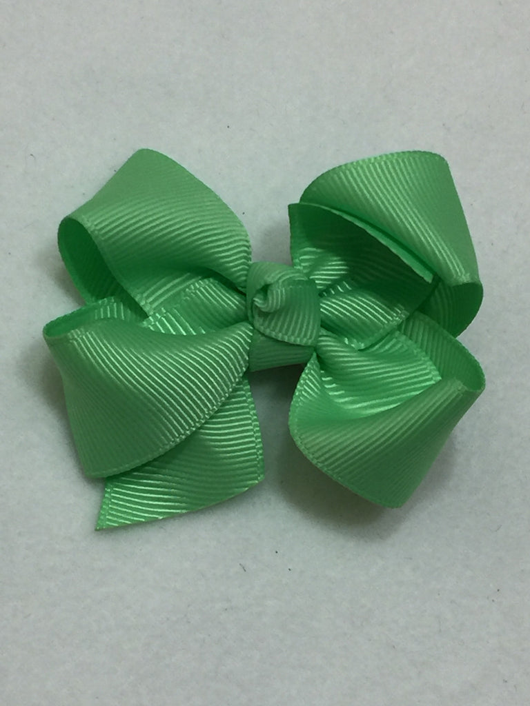 Medium Hair Bow - Mint