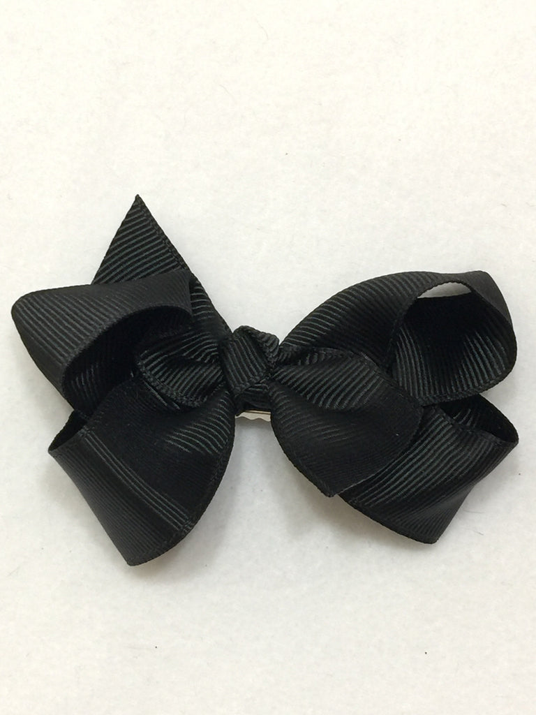 Medium Hair Bow - Black