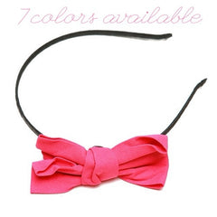 Headband - Fabric Bow - Cutie Bowtutie
