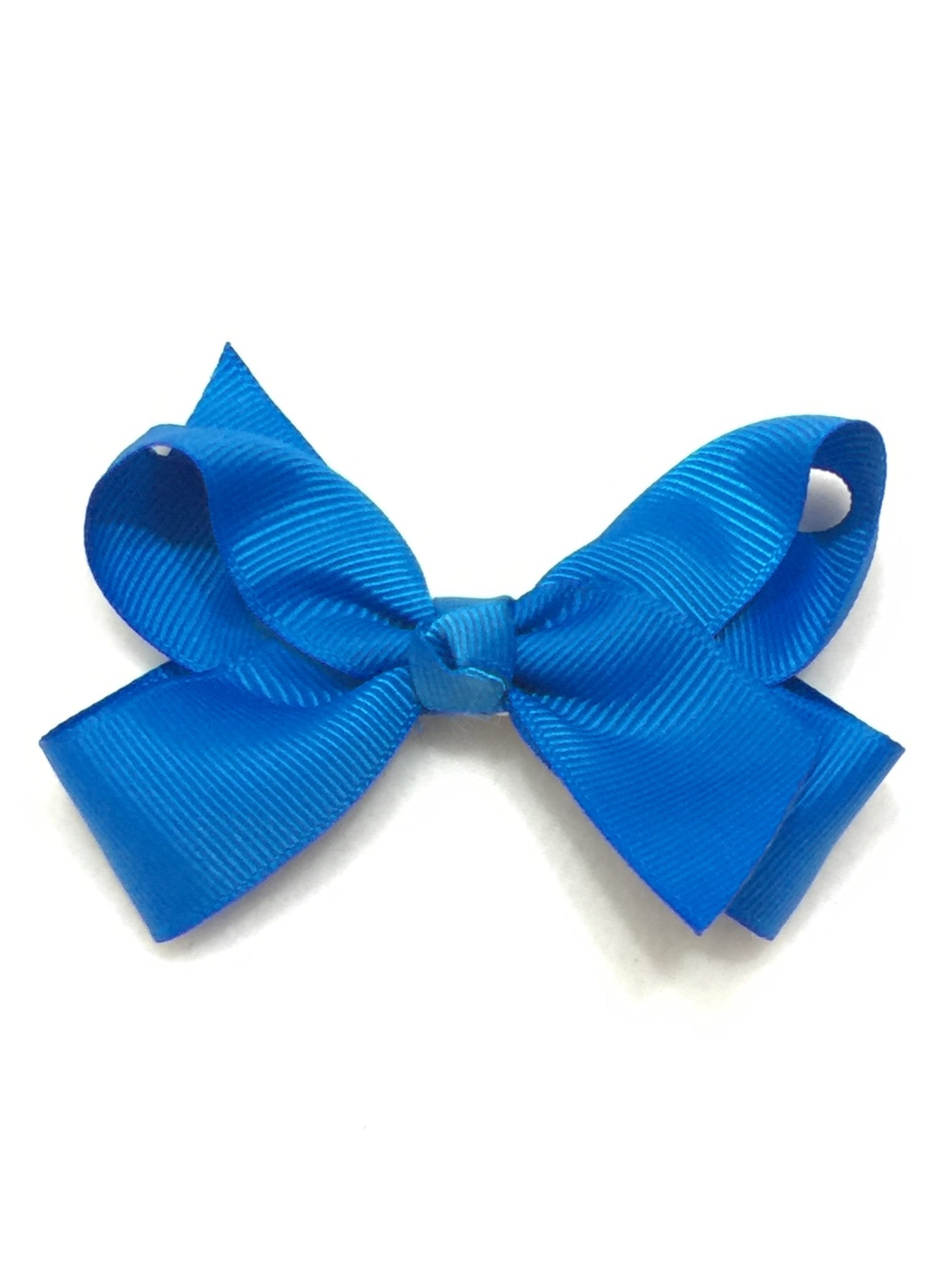 Large Hair Bow - Royal Blue - Cutie Bowtutie