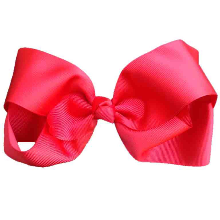 Jumbo Hair Bow - Red - Cutie Bowtutie