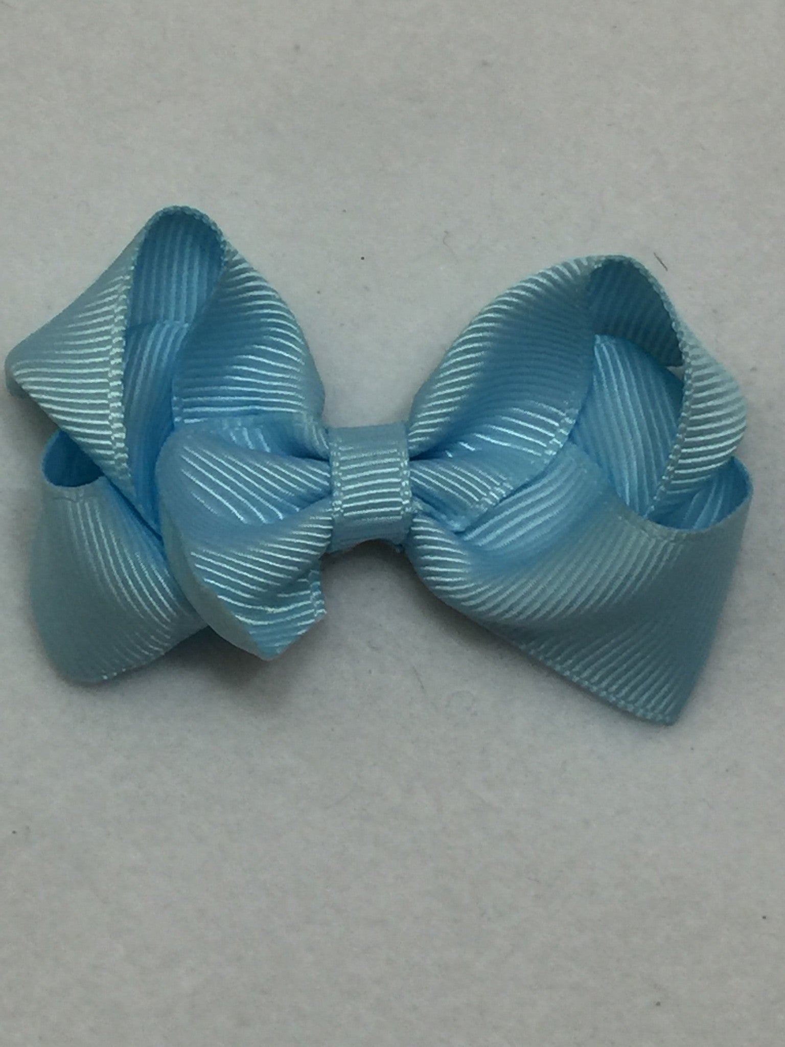 Small Hair Bow - Light Blue - Cutie Bowtutie