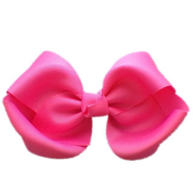 Jumbo Hair Bow - Pink Big Knot