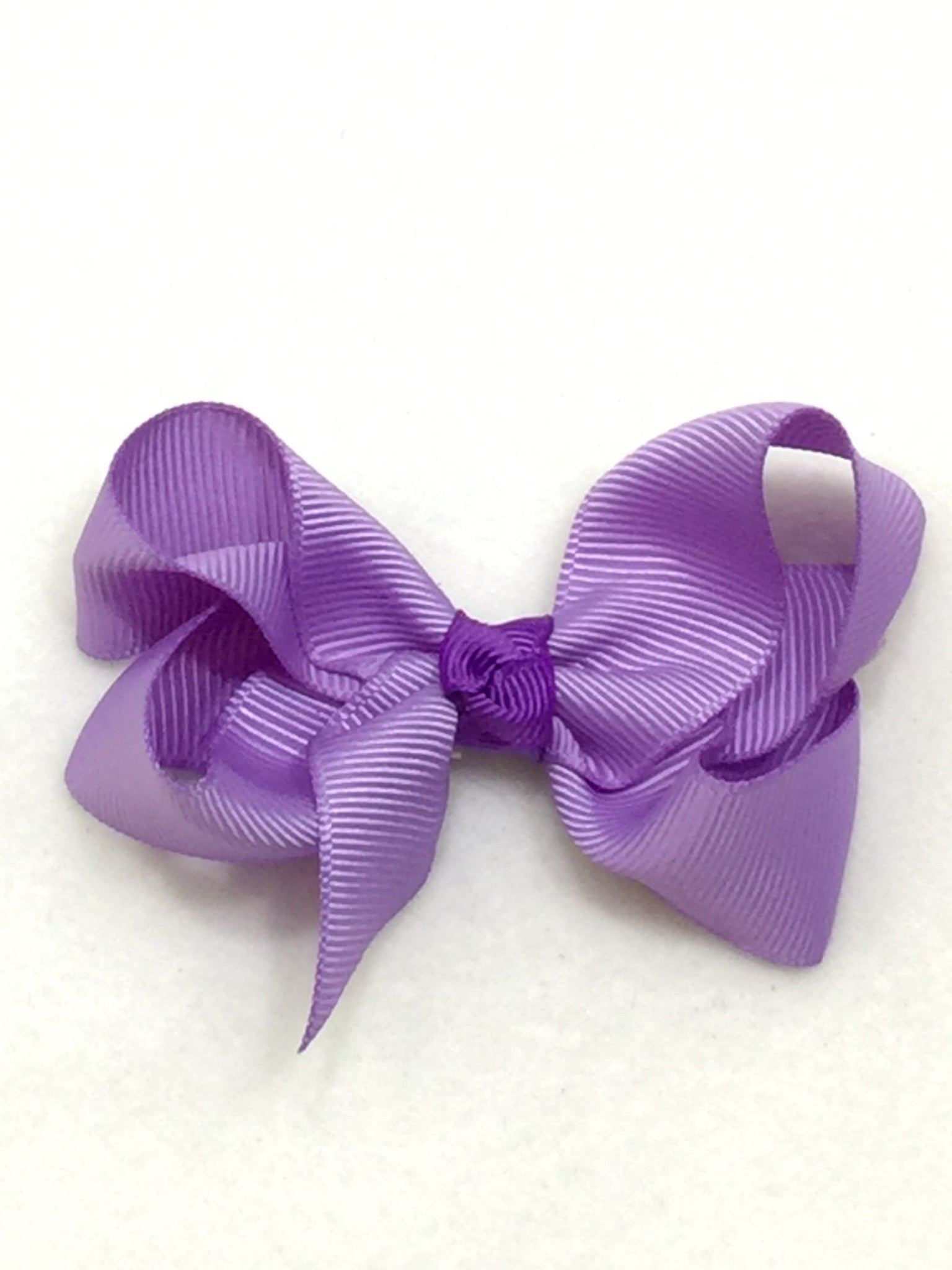 Medium Hair Bow - Lavender - Cutie Bowtutie