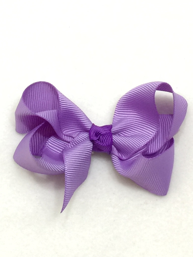 Medium Hair Bow - Lavender