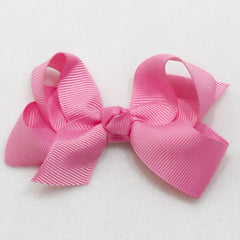 Medium Hair Bow - Pixie Pink - Cutie Bowtutie