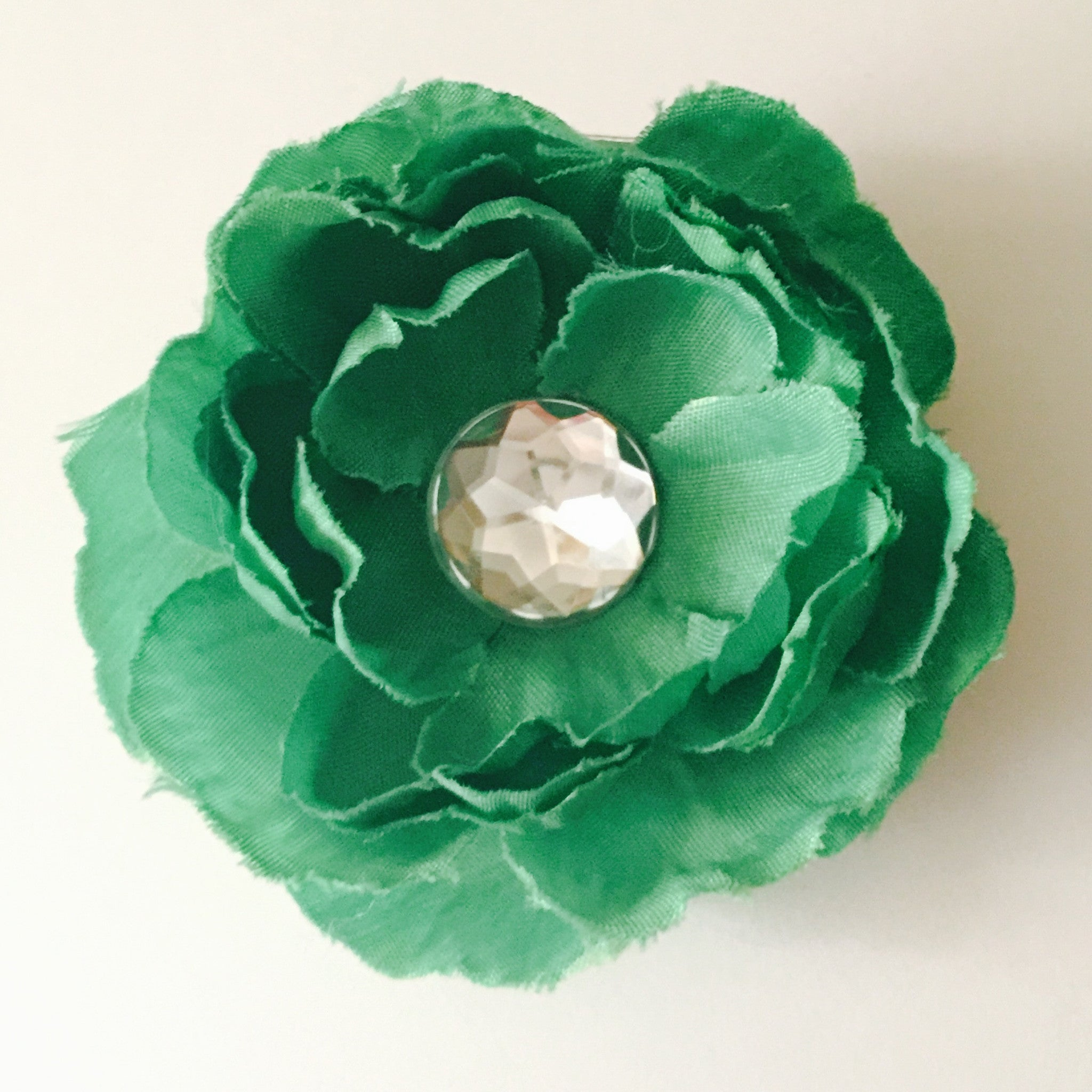 Small Flower - Kelly Green - Cutie Bowtutie