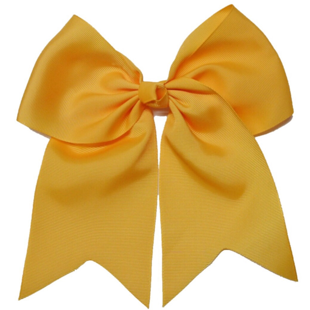 Cheer Bow - Gold