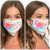 Reusable Face Mask - Tie Dye Mix