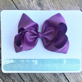 Gigantic Hair Bow - Dark Orchid - Cutie Bowtutie