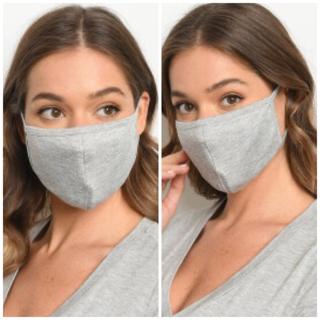 Reusable Face Mask - Gray