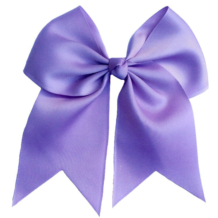 Cheer Bow- Lilac