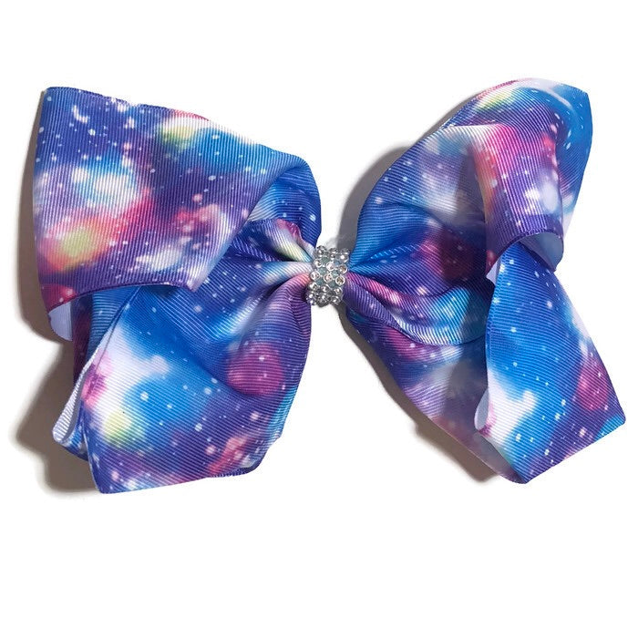 Gigantic Hair Bow - Galaxy - Cutie Bowtutie