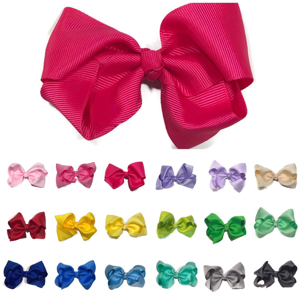 Large Classic Hair Bow