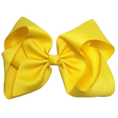 Gigantic Hair Bow - Bright Yellow - Cutie Bowtutie
