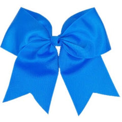 Cheer Bow - Blue Magic
