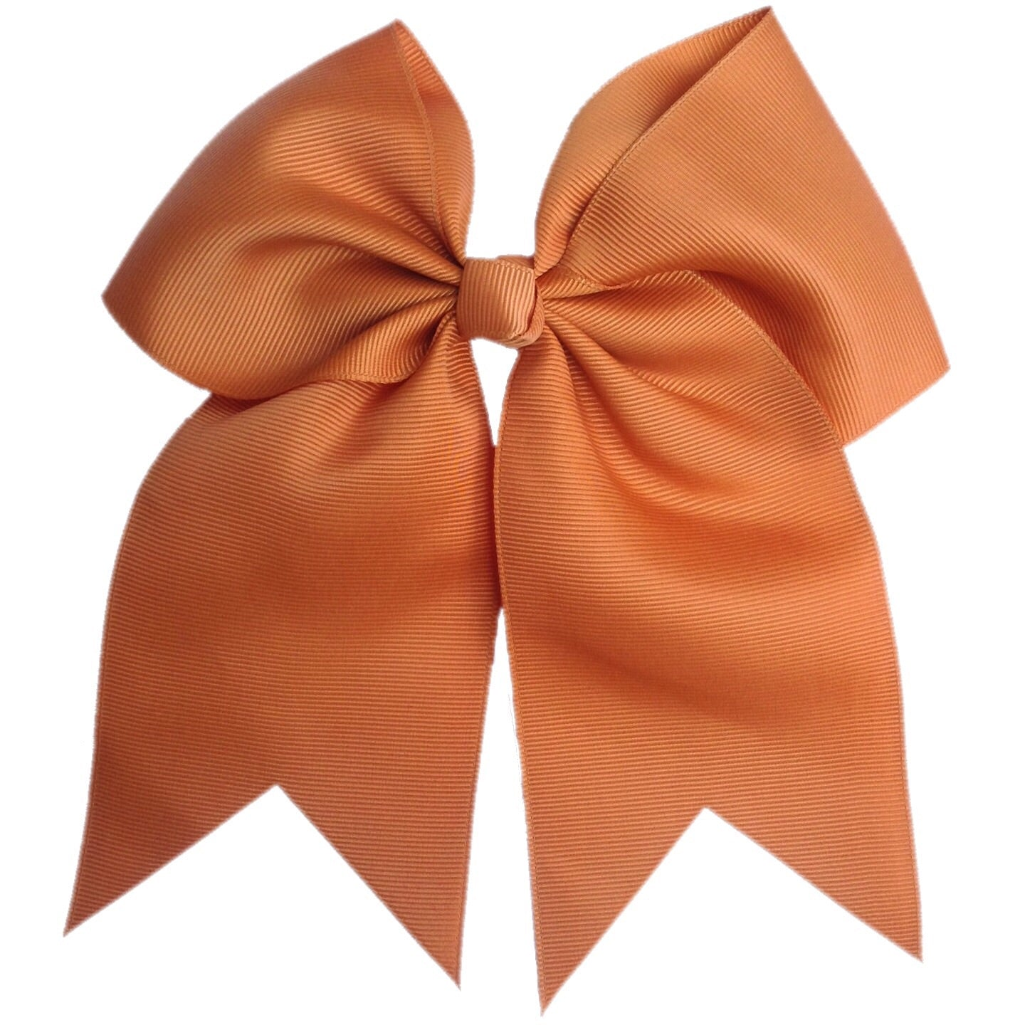 ginger orange cheer bow