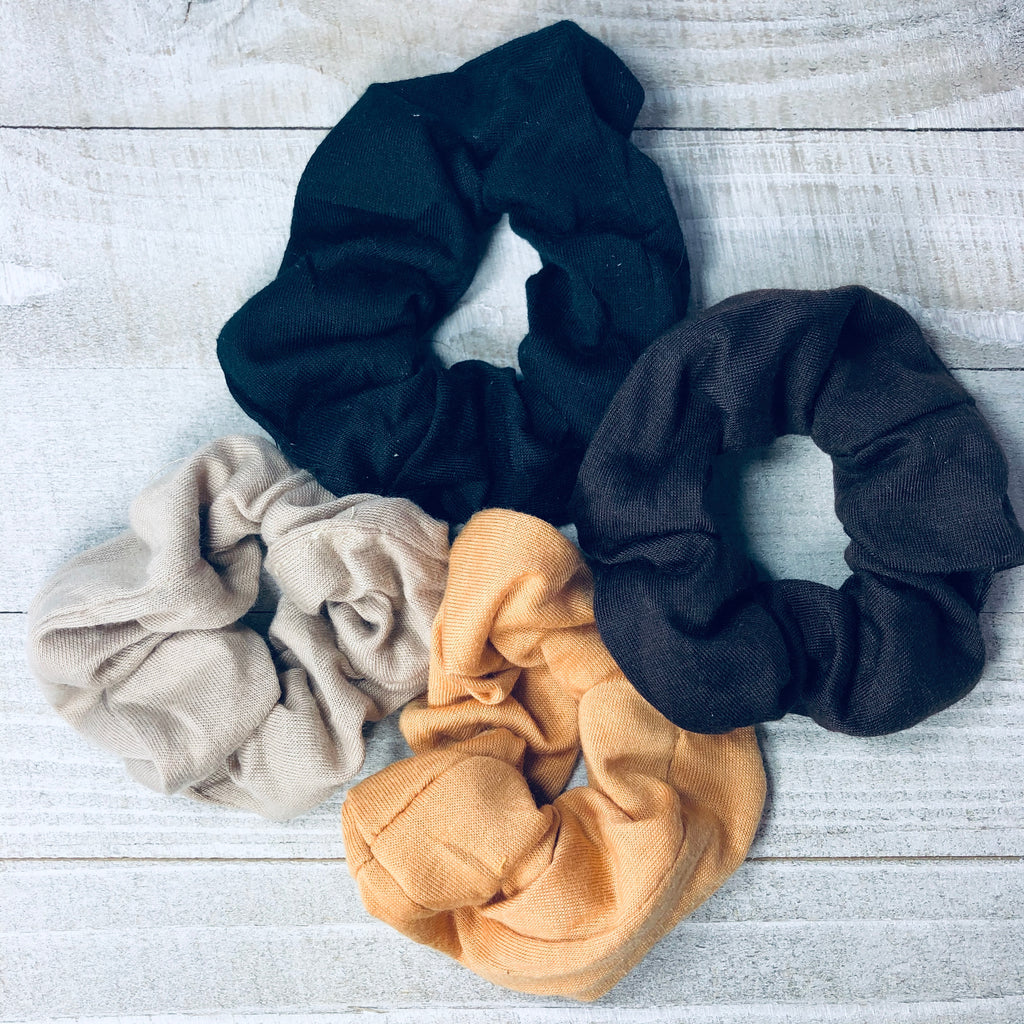 Basic Knit Scrunchie