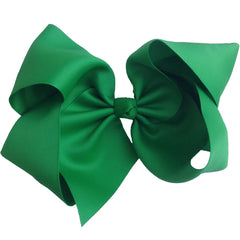 Gigantic Hair Bow - Kelly Green - Cutie Bowtutie