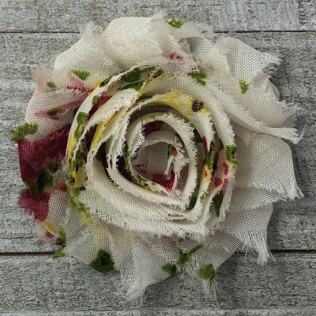 Shabby Rose - Cream Floral