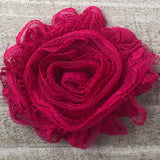 Shabby Rose - Lace Hot Pink - Cutie Bowtutie