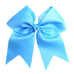 Cheer Bow- Sky Blue