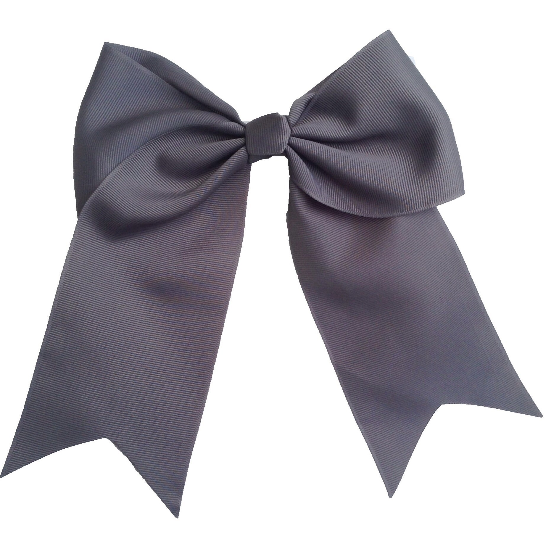 Cheer Bow- Charcoal - Cutie Bowtutie