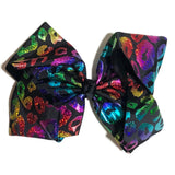 Gigantic Hair Bow - Metallic Cheetah - Cutie Bowtutie